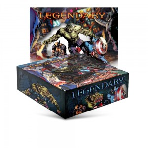 Legendary: A Marvel Deck Building Game (uszkodzony)